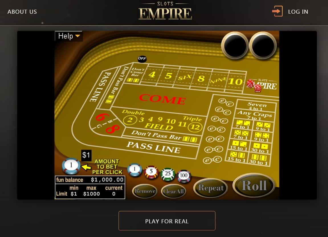 Slots empire casino game