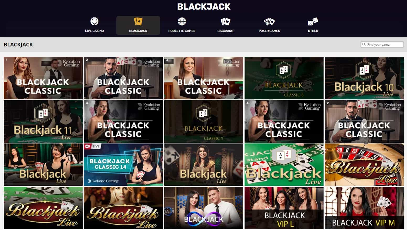 playamo casino blackjack