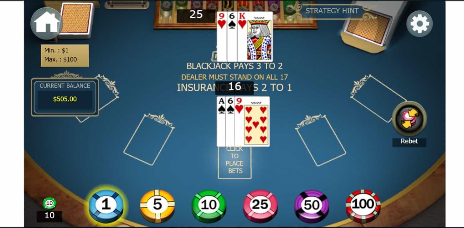 21 dukes casino game process