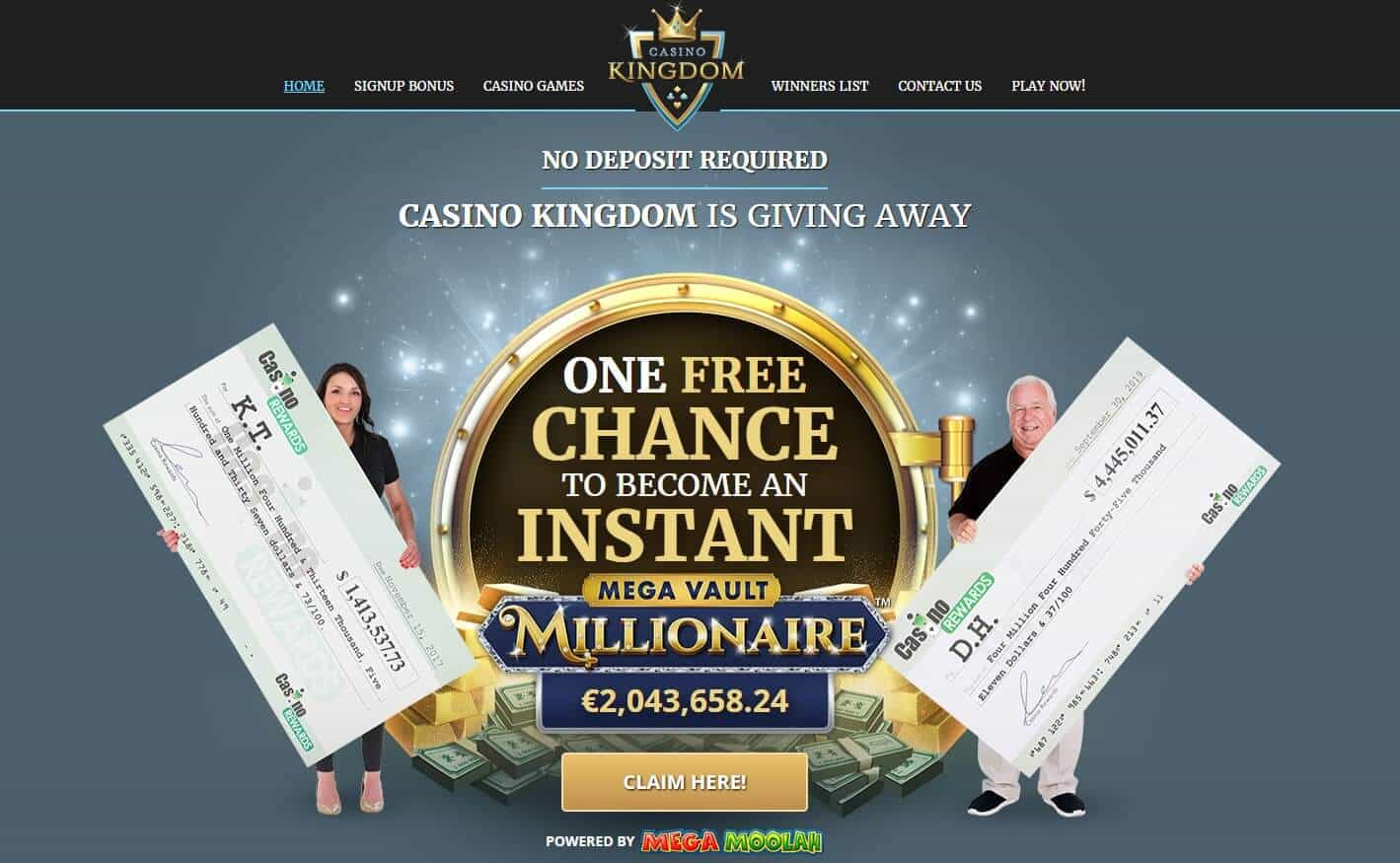 Casino kingdom homepage