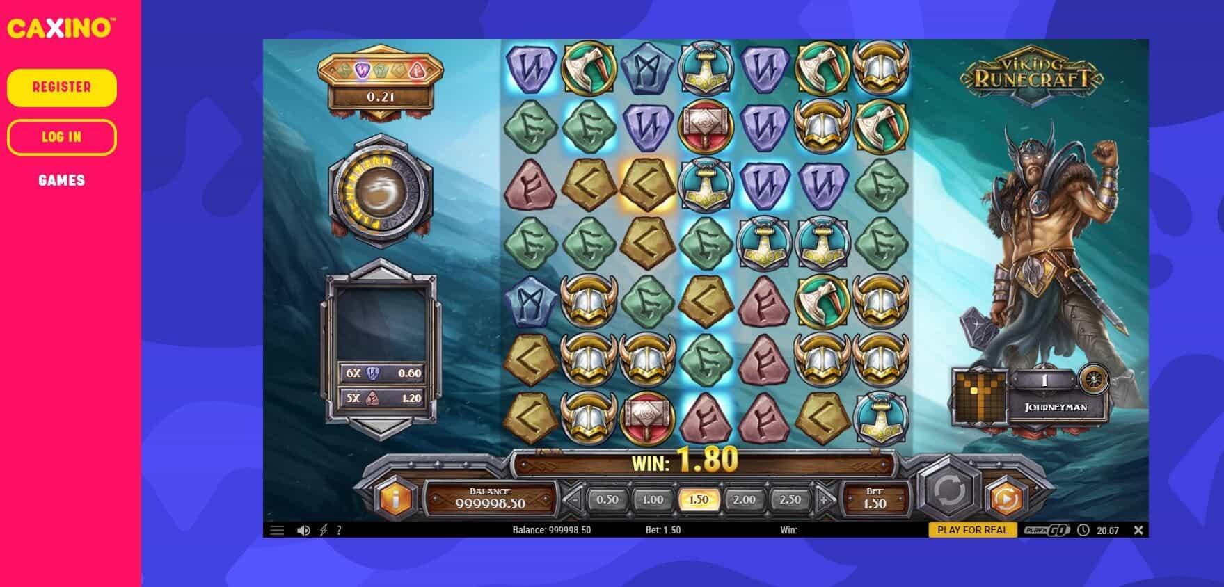 Caxino Casino Viking Slot