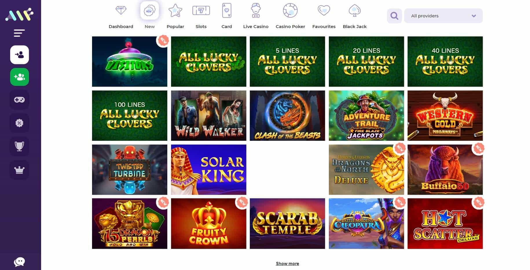 Alf Casino games