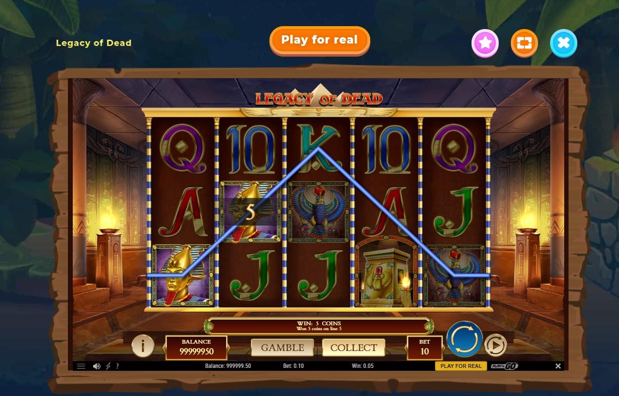 Wazamba Casino Slot game